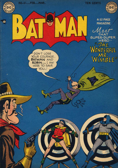 Cover for Batman (DC, 1940 series) #51
