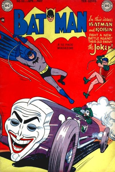 Cover for Batman (DC, 1940 series) #52