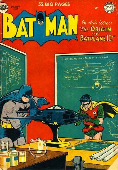 Cover for Batman (DC, 1940 series) #61