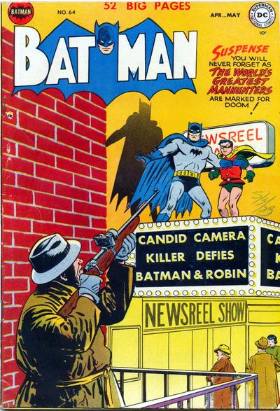 Cover for Batman (DC, 1940 series) #64