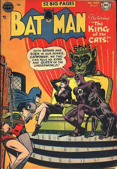 Cover for Batman (DC, 1940 series) #69