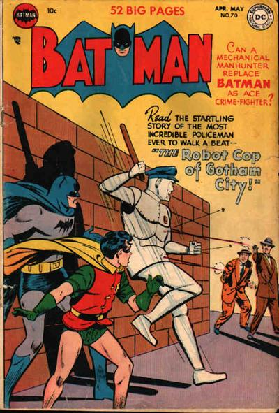 Cover for Batman (DC, 1940 series) #70