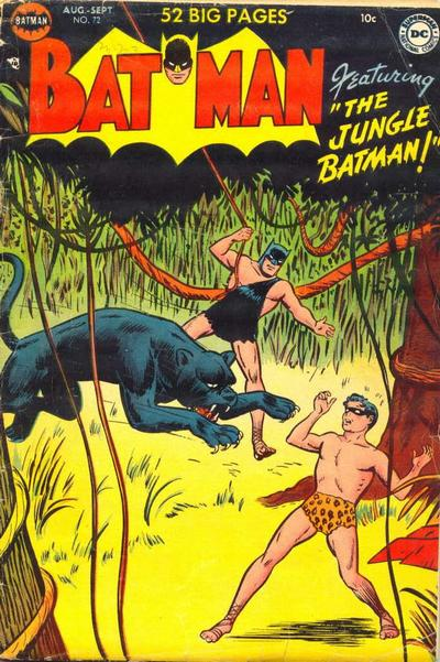 Cover for Batman (DC, 1940 series) #72