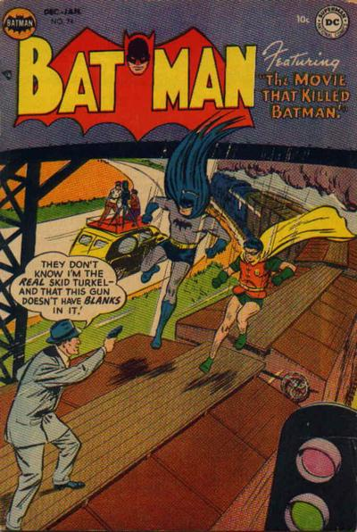 Cover for Batman (DC, 1940 series) #74