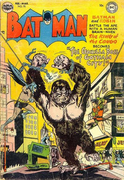 Cover for Batman (DC, 1940 series) #75