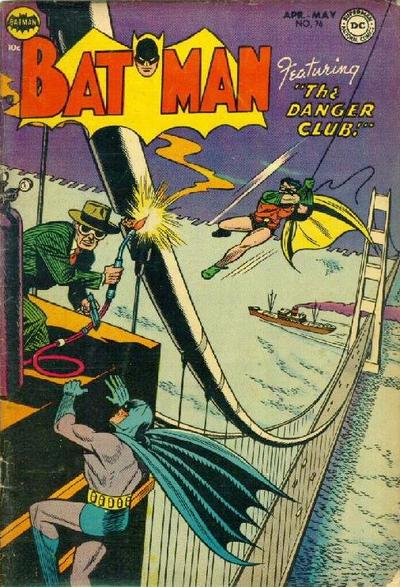 Cover for Batman (DC, 1940 series) #76