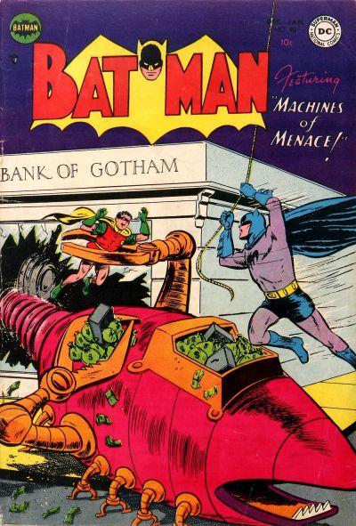 Cover for Batman (DC, 1940 series) #80