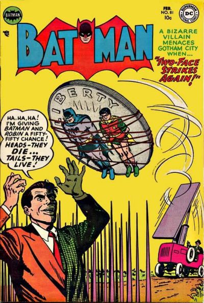 Cover for Batman (DC, 1940 series) #81