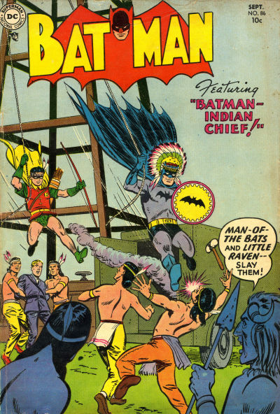 Cover for Batman (DC, 1940 series) #86