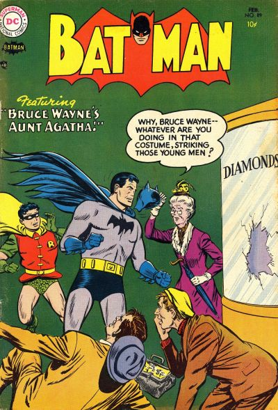 Cover for Batman (DC, 1940 series) #89