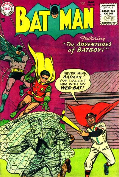 Cover for Batman (DC, 1940 series) #90