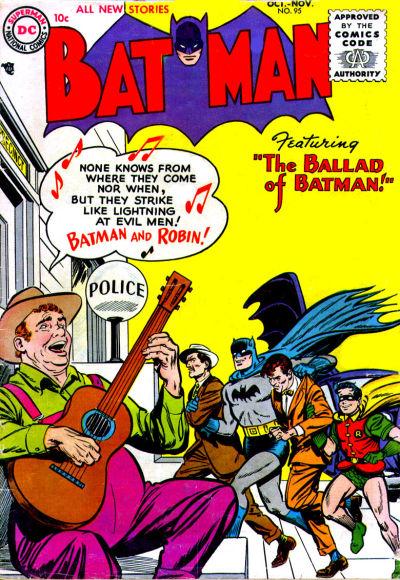Cover for Batman (DC, 1940 series) #95