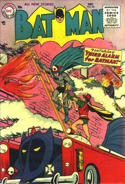 Cover for Batman (DC, 1940 series) #96