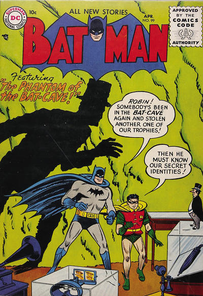 Cover for Batman (DC, 1940 series) #99