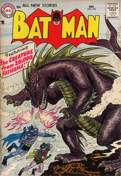 Cover for Batman (DC, 1940 series) #104