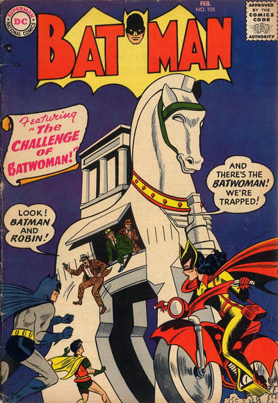 Cover for Batman (DC, 1940 series) #105