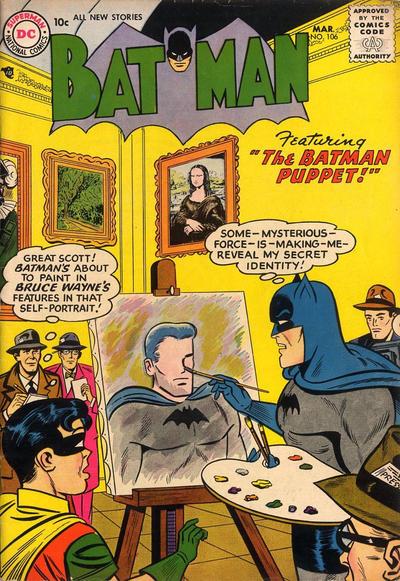 Cover for Batman (DC, 1940 series) #106