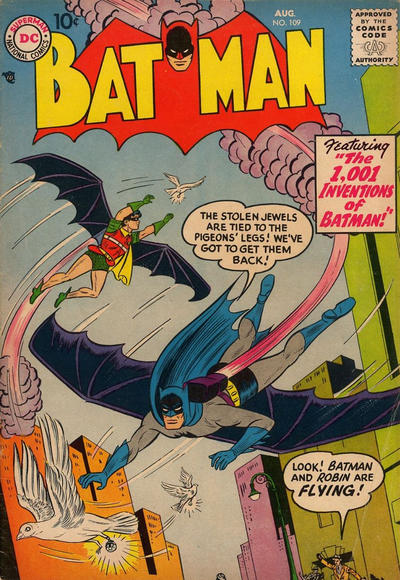 Cover for Batman (DC, 1940 series) #109