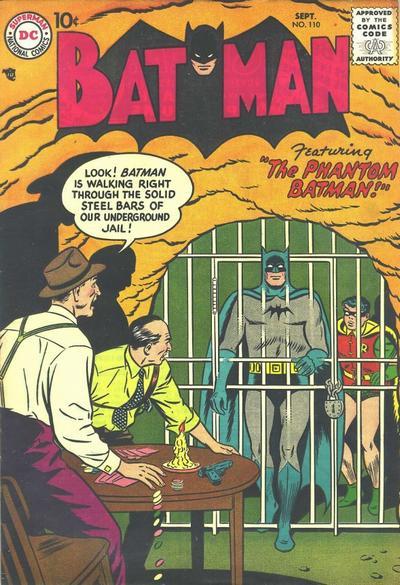 Cover for Batman (DC, 1940 series) #110