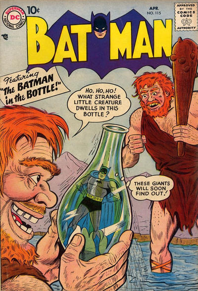 Cover for Batman (DC, 1940 series) #115