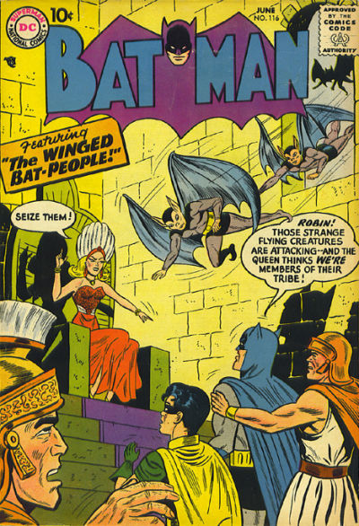 Cover for Batman (DC, 1940 series) #116