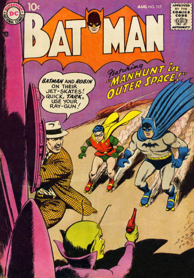 Cover for Batman (DC, 1940 series) #117