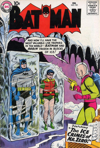 Cover for Batman (DC, 1940 series) #121