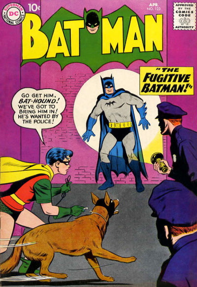 Cover for Batman (DC, 1940 series) #123