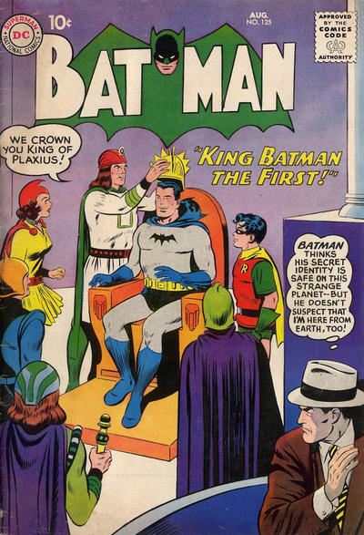 Cover for Batman (DC, 1940 series) #125