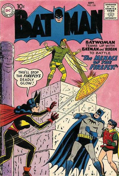 Cover for Batman (DC, 1940 series) #126
