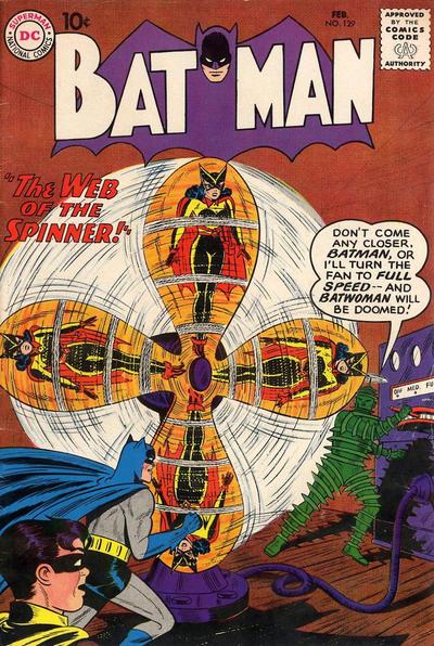 Cover for Batman (DC, 1940 series) #129