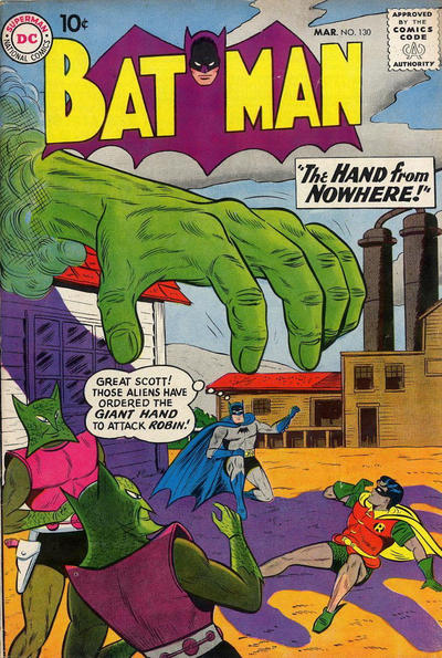 Cover for Batman (DC, 1940 series) #130