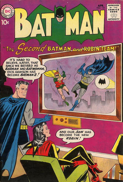 Cover for Batman (DC, 1940 series) #131