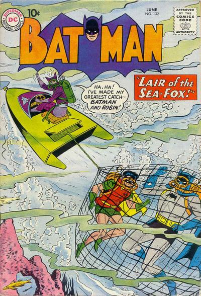 Cover for Batman (DC, 1940 series) #132