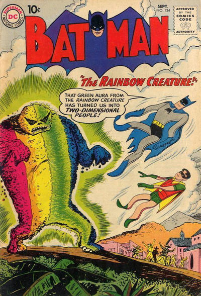 Cover for Batman (DC, 1940 series) #134