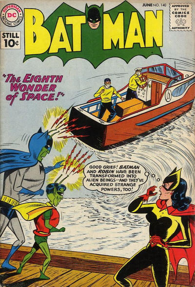 Cover for Batman (DC, 1940 series) #140