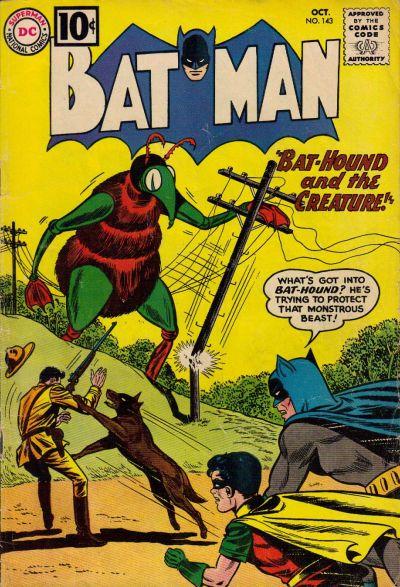 Cover for Batman (DC, 1940 series) #143