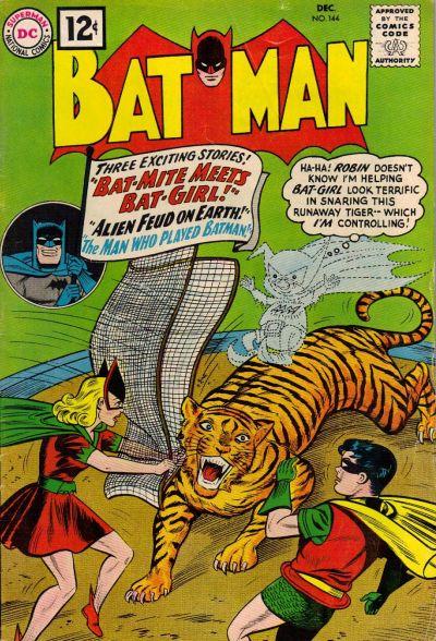 Cover for Batman (DC, 1940 series) #144