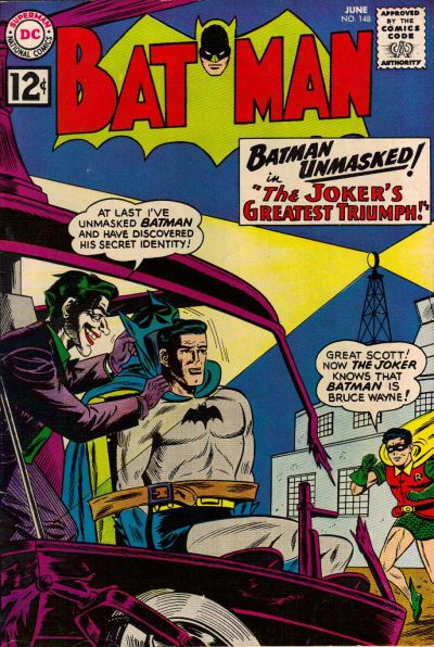 Cover for Batman (DC, 1940 series) #148
