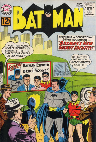 Cover for Batman (DC, 1940 series) #151