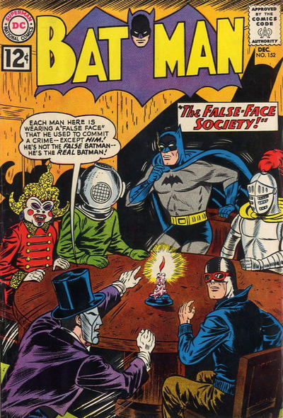 Cover for Batman (DC, 1940 series) #152