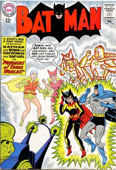 Cover for Batman (DC, 1940 series) #153