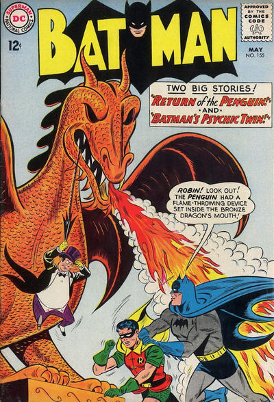 Cover for Batman (DC, 1940 series) #155