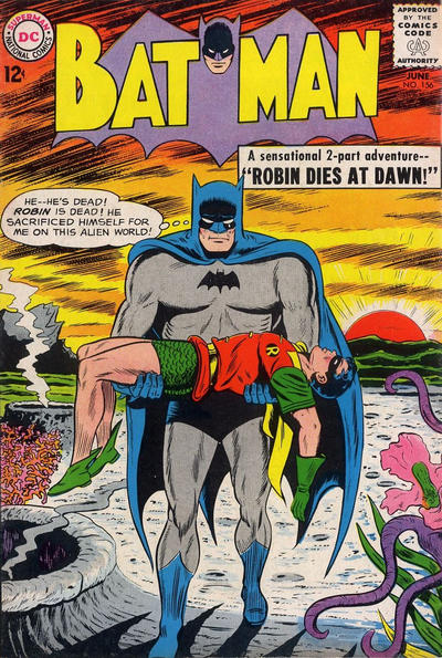 Cover for Batman (DC, 1940 series) #156