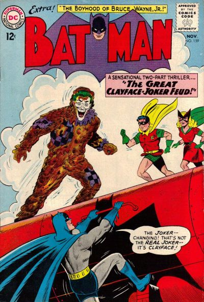 Cover for Batman (DC, 1940 series) #159