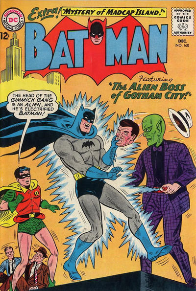 Cover for Batman (DC, 1940 series) #160