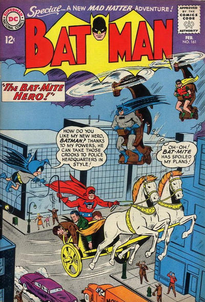 Cover for Batman (DC, 1940 series) #161