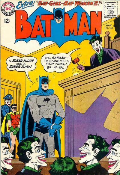 Cover for Batman (DC, 1940 series) #163