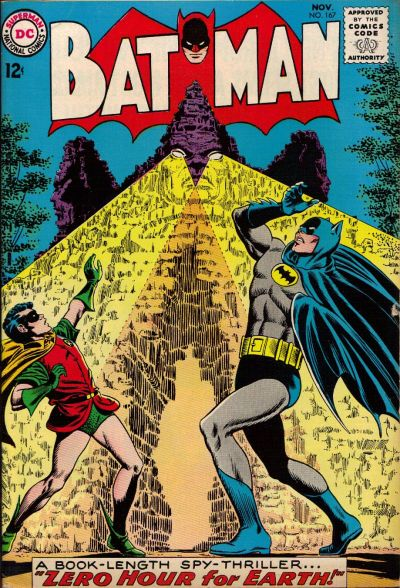 Cover for Batman (DC, 1940 series) #167