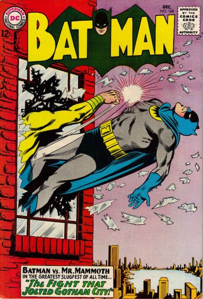 Cover for Batman (DC, 1940 series) #168